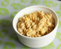 toddler mac & cheese (with pumpkin or sweet potato or butternut squash)