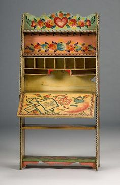 painted furniture with writting - Google Search