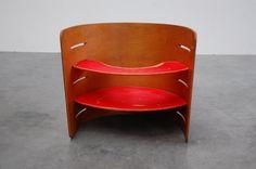 Kristian Solmer Vedel kids chair 1957 (via MID MOD Design)