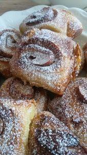 Škoricové slimáky kváskové Doughnut, French Toast, Breakfast, Desserts, Nova, Morning Coffee, Tailgate Desserts, Postres, Deserts