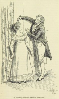 Jane Austen's 'Emma... In that very room she had been measured... '