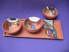 Cuencos en arcilla roja Pottery Painting, Ceramic Painting, Ceramic Vase, Slab Pottery, Ceramic Pottery, Pottery Art, Clay Bowl, Pottery Designs, Pottery Ideas