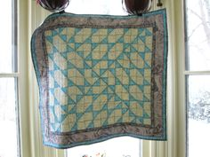 Blue Bubble Baby Quilt by ImJustJoKing on Etsy, $160.00