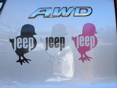 Jeep Chick Car Magnet by TheChickCarMagnet on Etsy https://www.etsy.com/au/listing/261521277/jeep-chick-car-magnet