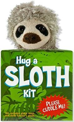 Hug a Sloth Kit (book with plush)