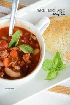 Olive-Garden-Pasta-Fagioli-Soup-Recipe-Dinner Ideas   theidearoom.net