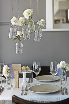 hanging vases centerpieces weddings events parties