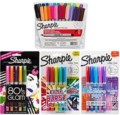 Disney Felt Tip Pen Drawing Markers 36 pk Total Assorted Colors for age 5+