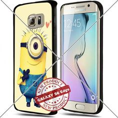 Samsung Galaxy S6 Edge Minions Stuart Love Cute Cell Phone Case Shock-Absorbing TPU Cases Durable Bumper Cover Frame Black Lucky_case26 http://www.amazon.com/dp/B018KOQ7NQ/ref=cm_sw_r_pi_dp_Ys8vwb0RTJWN6
