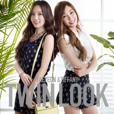 Taeyeon and Tiffany for Mixxo