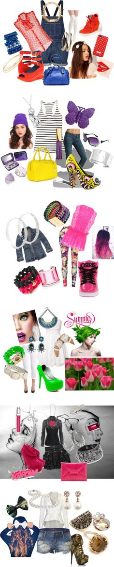 """FUN & PLAYFUL LOOK"" by kcfash on Polyvore"