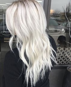 Options for Short Black Hairstyles 2016 Hair Styles 2016, Short Hair Styles, Platinum Blonde Hair, Icy Blonde, Silver Hair, Balayage Hair, Hair Looks, Dyed Hair, Hair Inspiration
