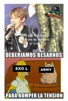 Lee 《1》 de la historia Memes de EXO por Escarfia (Infires man!!) con 1,741 lecturas. exo-l, tao, memes. Que no me cont...