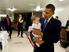 Barack Obama Being Adorable with Adorable Children...so much <3