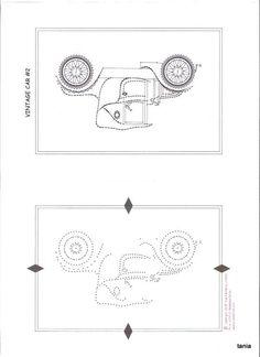 Tin Punch Car Pattern