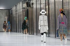 Chanel show at #PFW!