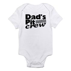 Auto Racing  Crew Clothing on Auto Racing Baby Clothing   Dad S Pit Crew Infant