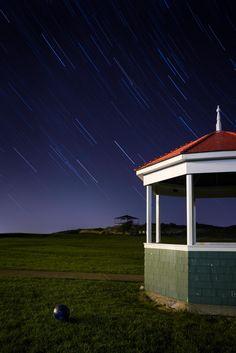 Star Island at night