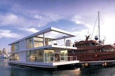 House boat...