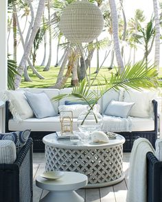 Patio Decor - Patio Design and Furniture Outdoor Rooms, Outdoor Living, Outdoor Furniture Sets, Outdoor Decor, Pool Patio Furniture, Adirondack Furniture, Inexpensive Furniture, Outdoor Pillow Covers, Outdoor Coffee Tables