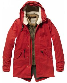 Outdoor Parka With Inner Jacket