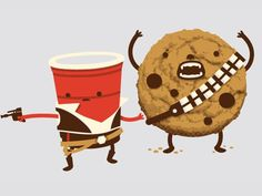 Solo and Chewy....Can I get this on a t-shirt?
