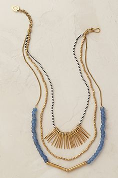 Anthropologie EU Jasmine Layered Necklace