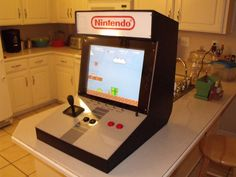This Instructable will show you how I built my Nintendo arcade. It is a bartop cabinet that plays original Nintendo game. The arcade is completely self contained with one power ...