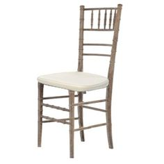 NECR Weathered Oak Chiavari Chair $7.50