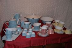 Geschirr von Schönwald, 44 teilig, Vintage in Antiquitäten & Kunst, Porzellan & Keramik, Porzellan | eBay