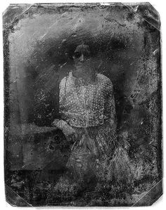 Black and white, decayed daguerreotype portrait Storyboard, Old Pictures, Old Photos, Vintage Photographs, Vintage Photos, Dark Side, Ghost In The Machine, Inspiration Art, Library Of Congress
