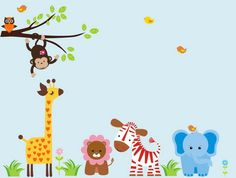 Google Image Result for http://www.beazleyhome.com/wp-content/uploads/2012/09/Funny-Safari-Animals-Cartoon-Wall-Murals-Art-for-Baby-Bedroom-Decoration-Ideas.jpg