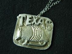 Sterling Silver Armadillo Necklace