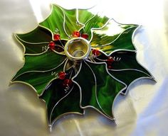 Holly Leaves Centerpiece