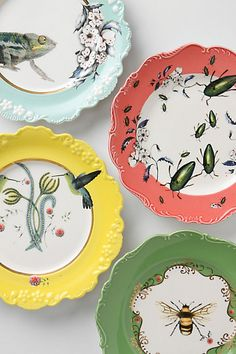 Great Dessert Plates!! So original