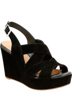 0a92aeb4a63 Clarks®  Amelia Alice  Slingback Wedge Sandal (Women) available at   Nordstrom