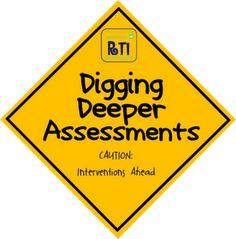 Digging Deeper (diagnostic) Assessments