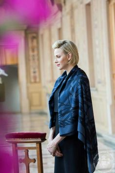 Princess Charlene Attends the Corpus Christi celebrations in Monaco