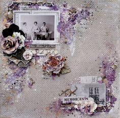 Scrapbook.com Layout Projects: Vintage