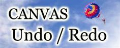 Undo and Redo with HTML5 Canvas