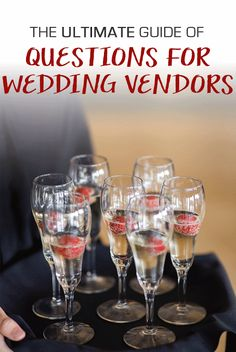 The Ultimate Wedding Vendor Question Guide | Kennedy Blue
