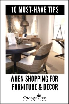 Read this if you want to save time money and frustration when shopping for furniture and decor for your home. Read this if you want to save time money and frustration when shopping for furniture and decor for your home.