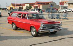1967 Ford Fairlane 4 Door Wagon