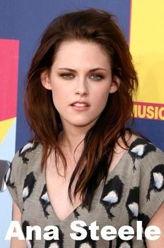 Kristen Stewart as Ana Steele? Bret Easton Ellis says it's between her and ScarJo. #50ShadesofGrey