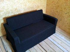 Ikea Solsta Sofa Bed Ransta Dark Gray