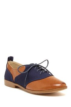 HauteLook | Restricted Boots: Betsy Leather & Canvas #Oxford #shoes