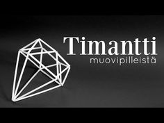 Tee se itse    Timantti muovipilleistä - YouTube