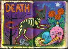 Death (Tarot of Dogs), via Flickr.
