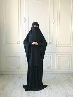 Transformer Black #Khimar, #niqab transformer, french #jilbab, black burqa, traditional #hijab, ready to wear hijab, long hijab, #muslim dress