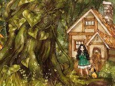 어떤상상 #4 - 소녀와 콩나무